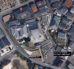 コワーキングスペースUmidass(ウミダス)の駐車場航空写真