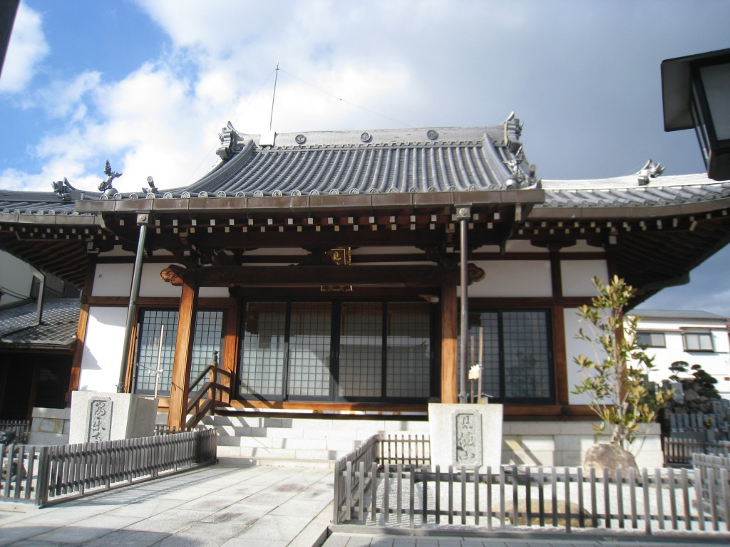 コワーキングスペースUmidassがある安楽寺の本堂