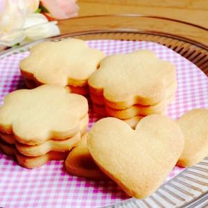 アイシングクッキーの土台のクッキー