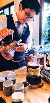 王様のコーヒー担当の中川さん