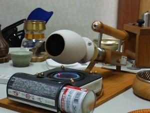 コーヒーの焙煎道具
