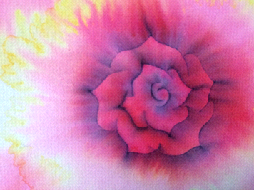 このバラが1分で描ける?本当です!