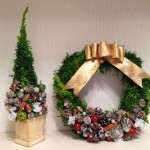 クリスマスツリー・クリスマスリーフ