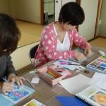 光の曼荼羅アート(パステルアート)教室開催しています