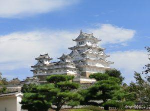 西の丸庭園からの姫路城