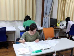 集中して勉強、仕事ができるエリア