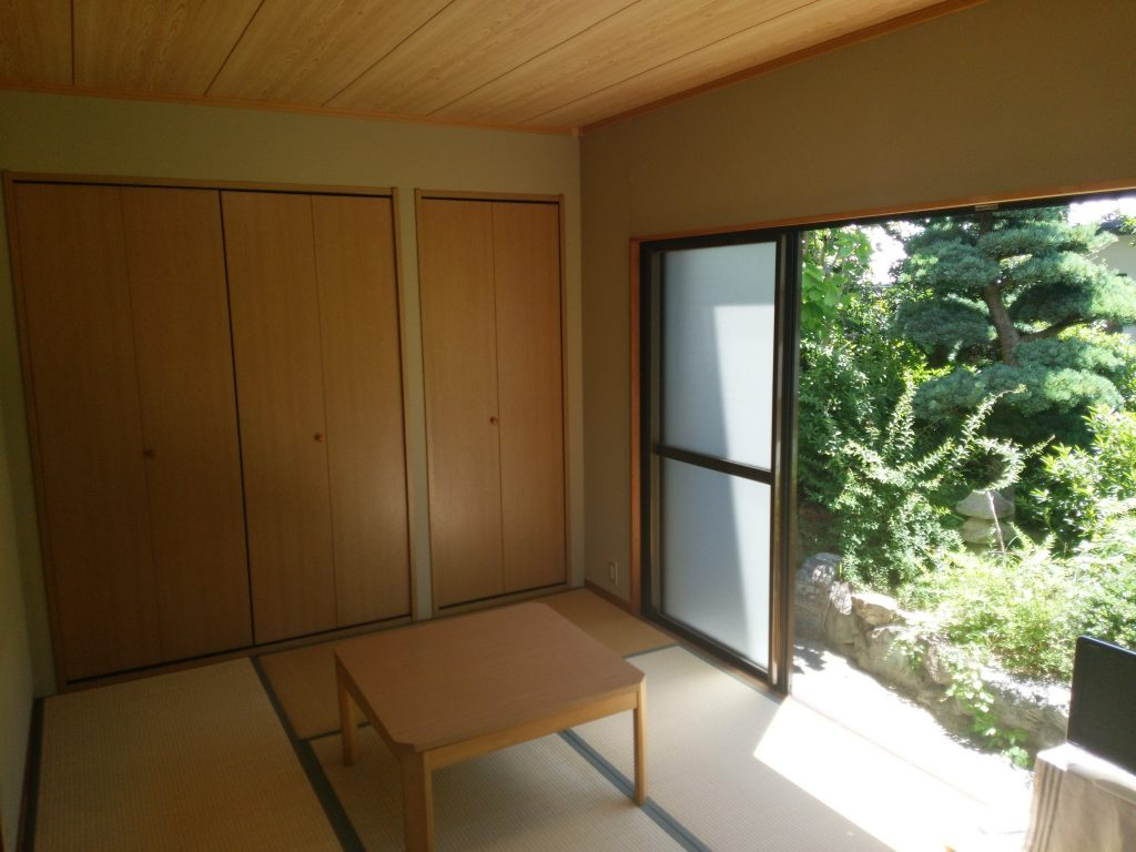 Umidass1Fの和室スペース