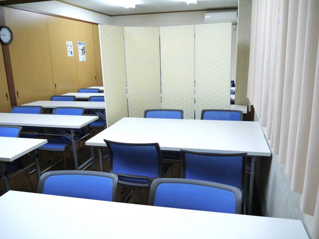 会議・セミナールームの仕切りイメージ